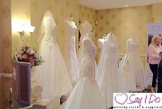 Wedding Dresses at Hatherton House Hotel Wedding Fayre