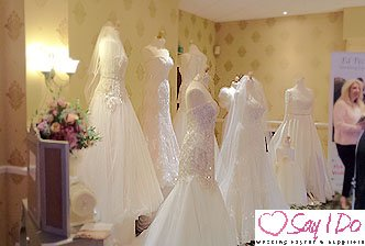Wedding Dresses at Hatherton House Hotel Wedding Fayre