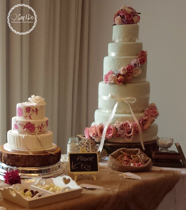 Wedding Cake Ideas - Say I Do Wedding Fayres