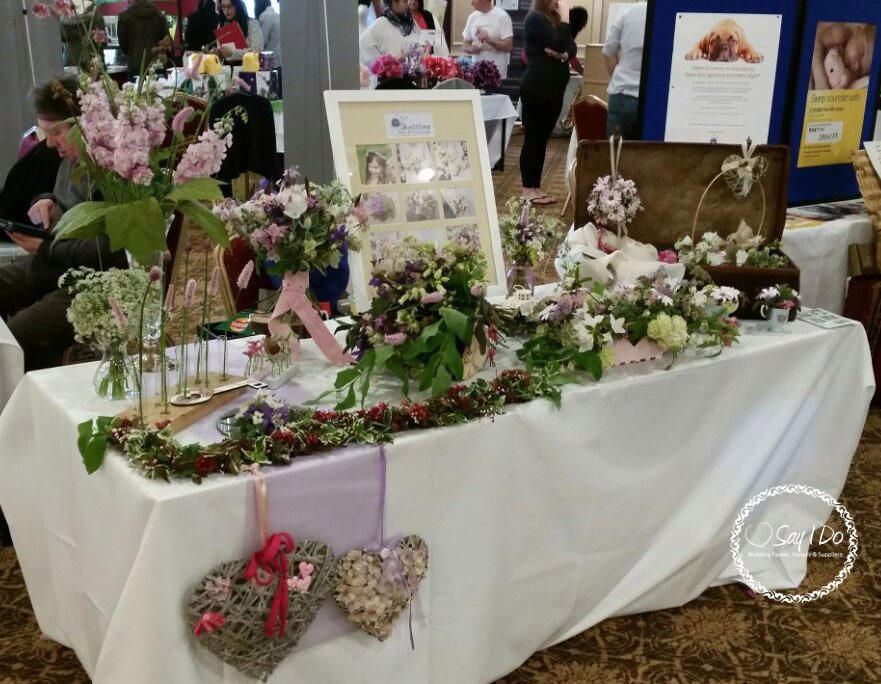 wedding flowers - kidderminster wedding fayre