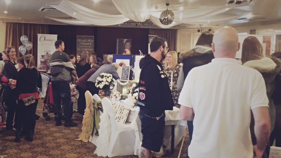 busy kidderminster wedding fayre