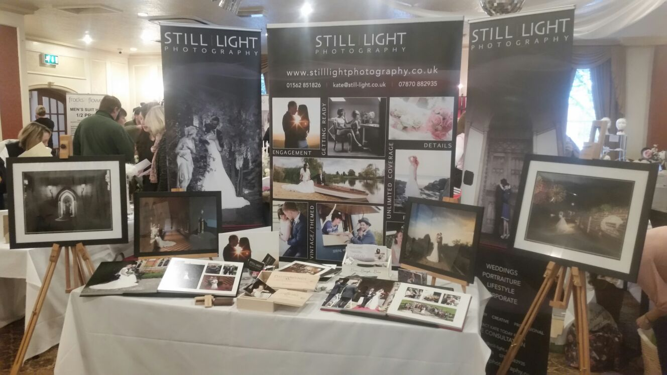 Exhibit Kidderminster Wedding Fayre