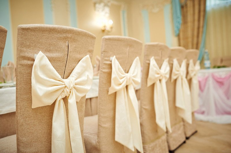 Chair Covers - Telford Wedding Fayre, Shropshire